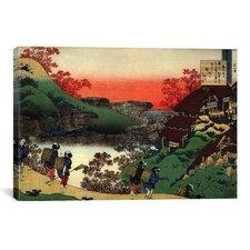 """""""Sarumaru Dayu"""" Canvas Wall Art by Katsushika Hokusai"""