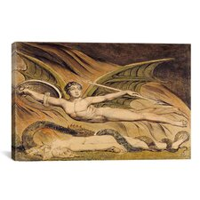 'Satan Exulting over Eve' by William Blake Painting Print on Canvas