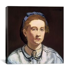 """Victorine Meurent"" Canvas Wall Art by Edouard Manet"