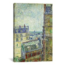 'View from Theo's Apartment' by Vincent Van Gogh Painting Print on Canvas