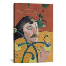 'Self Portrait' by Paul Gauguin Painting Print on Canvas