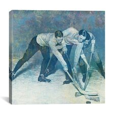 Canada Vintage Hockey Game #2 Graphic Art on Canvas