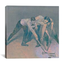 Canada Vintage Hockey Game #3 Graphic Art on Canvas