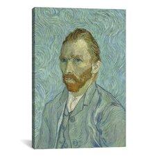 'Self Portrait, 1889' by Vincent Van Gogh Painting Print on Canvas