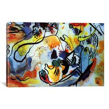 'The Last Judgment' by Wassily Kandinsky Prints Painting Print on Canvas