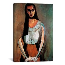 """The Italian Woman"" Canvas Wall Art by Henri Matisse"