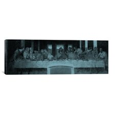 'The Last Supper III' by Leonardo Da Vinci Painting Print on Canvas