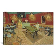 'The Night Cafe 1888' by Vincent Van Gogh Painting Print on Canvas