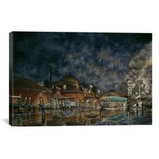 """The Le Grande Station"" Canvas Wall Art by Stanton Manolakas"