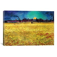 'Sommerabend' by Vincent Van Gogh Painting Print on Canvas