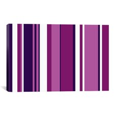 Ultra Vivid Violet Graphic Art on Canvas