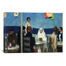 """Soir Bleu"" Canvas Wall Art by Edward Hopper"