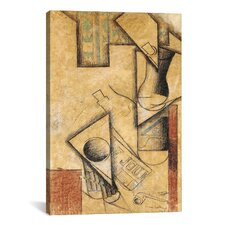 'Still Life, 1911' by Juan Gris Painting Print on Canvas