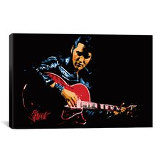 Sitdown (Elvis Presley) Graphic Art on Canvas