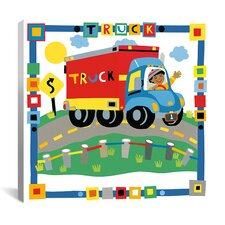 """Truck"" Canvas Wall Art by Cheryl Piperberg"
