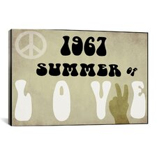 """""""Summer of Love"""" Canvas Wall Art by Color Bakery"""