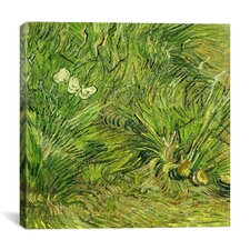 """""""Two White Butterflies"""" Canvas Wall Art by Vincent Van Gogh"""