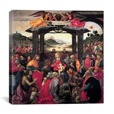 """The Adoration of The Magi"" Canvas Wall Art by Domenico Ghirlanaio"