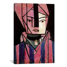 """White and Pink Head"" Canvas Wall Art by Henri Matisse"