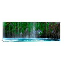 Panoramic Mossbrae Falls, Sacramento River, Siskiyou County, California Photographic Print on Canvas