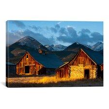 """Wet Mountain Valley Sunrise"" Canvas Wall Art by Dan Ballard"