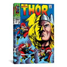 Marvel Comics Book Thor Issue Cover 158 Graphic Art on Canvas