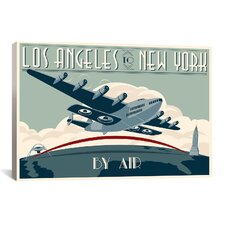 La to Ny Zazzle #2 Canvas Print Wall Art