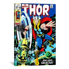 Marvel Comics Book Thor Issue Cover 160 Graphic Art on Canvas