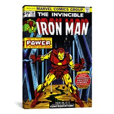 Marvel Comics Book Iron Man Issue Cover 69 Graphic Art on Canvas