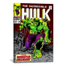 Marvel Comics Hulk Issue Cover Graphic Art on Canvas