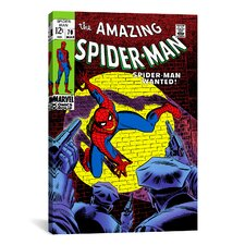 Marvel Comics Book Spider-Man Issue Cover #70 Graphic Art on Canvas