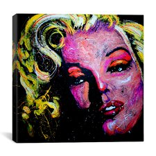 Marilyn Joker 001 Canvas Print Wall Art