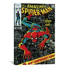 Marvel Comics Book Spider-Man Issue Cover #100 Graphic Art on Canvas