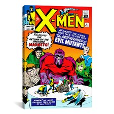 Marvel Comic Book X-Men Cover Issue Cover #4 Graphic Art on Canvas