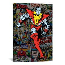 Marvel Comics X-Men Collossus Covers Collage Graphic Art on Canvas