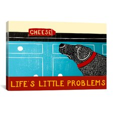 Life's Little Problems Banner Canvas Print Wall Art