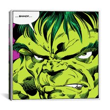 Marvel Comic Book Hulk Art Panel F Graphic Art on Canvas