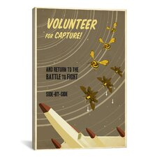 Volunteer for Capture Canvas Print Wall Art