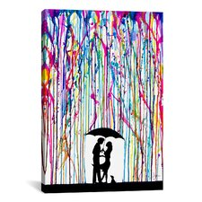 Two Step by Marc Allante Painting Print on Canvas