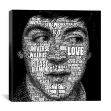 The Fab Four Songs - Paul by Maximilian San Graphic Art on Canvas