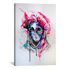 'Masq' by Marc Allante Graphic Art on Canvas