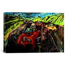 Vintage Racing 005 Canvas Print Wall Art