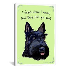 Would You Believe a Scotty Canvas Print Wall Art