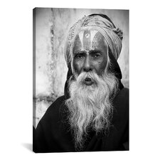 Nepal Saddhu II Canvas Wall Art by Nina Papiorek