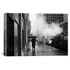 New York City Rain Canvas Wall Art by Nina Papiorek