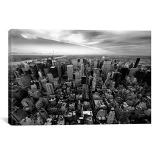 New York City Uptown Canvas Wall Art by Nina Papiorek