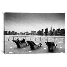 New York CityRelax Canvas Wall Art by Nina Papiorek