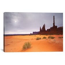 'Monument Valley Panorama' by Moises Levy Photographic Print on Canvas