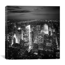 New York City Nights Canvas Wall Art by Nina Papiorek