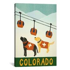 Colorado Ski Patrol Canvas Print Wall Art